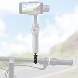 Sunnylife Bike Clamp 360degree Ratation for Insta360 ONE X Camera Bicycle Bar Mount Clip Stand Holder for DJI OSMO MOBILE 3 2