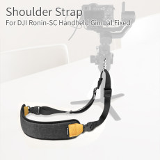 Sunnylife Shoulder Neck Strap Sling Lanyard Hand-Release Belt with Fastening Buckle Clip for DJI RONIN-SC Handheld Gimbal Accessory