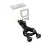 BGNING ​Bicycle Bike Handlebar Mount Adapter Camera Mount with Pivot Arm Fixed Adapter, Aluminum Alloy 360° Rotation Ball Head for Action Camera Sport Camera Tube Clamp