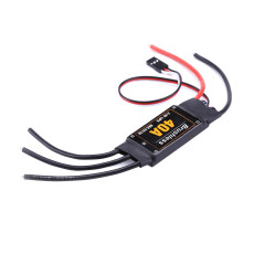 JMT 40A Brushless ESC 2-4S Speed Controller with 5V 3A BEC for Fixed Wing DIY RC Multi-axis Aircraft Drone Helicopter