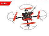 LDARC AK103 109mm 3S 2.5 Inch Toothpick FPV Racing Drone PNP/BNF F4 FC 12A Blheli_S ESC 25~200mW VTX Runcam Nano2 Camera