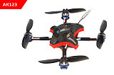 LDARC AK123 122mm 3S 3 Inch Toothpick FPV Racing Drone PNP/BNF F4 FC 12A Blheli_S ESC 25~200mW VTX Runcam Nano 2 Camera