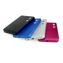 XT-XINTE Tool Free Aluminum Alloy HDD Case 2.5 inch Hard Disk Drive SATA to Mini USB 2.0 Enclosure Portable External SSD Box Support 2TB