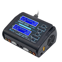 HTRC C240 DUO AC 150W /DC 240W Dual Channel 10A RC Balance Charger Discharger for LiPo LiHV LiFe Lilon NiCd NiMh Pb Battery