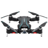 Feichao S17 Drone 4K Adjustable Wide-Angle / 1080P HD Dual Camera Wifi FPV Foldable RC Quadcopter Optical Flow Positioning Aerial Dron