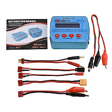 HTRC B6 Mini V2 80W Digital RC Battery Balance Charger PB Lipo Lihv LiIon LiFe NiCd NiMH Smart Battery Discharger