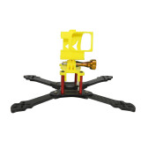 JMT 3D Print TPU 3D Printed Rack Plate Camera Fixed Mount Base for GOPRO Action Camera Three1 Frame Kit DIY FPV Racing Drone