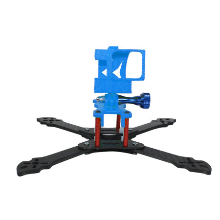 JMT 3D Print TPU 3D Printed Rack Plate Camera Fixed Mount Base for GOPRO Action Camera Q-ONE 180 Frame Kit DIY FPV Racing Drone