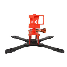 JMT 3D Print TPU 3D Printed Rack Plate Camera Fixed Mount Base for GOPRO Action Camera OWL215 Frame Kit DIY FPV Racing Drone
