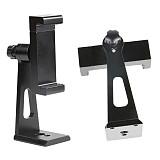 BGNing Aluminum Alloy Mobile Phone Bracket 360 Degree Horizontal Hard Shot Tripod Clip