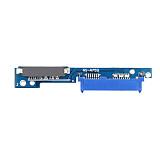 XT-XINTE Micro SATA 7+6 Male to SATA 7+15 Female Adapter Card Serial ATA Converter for Lenovo 310 312 320 330 IdeaPad 510 5000