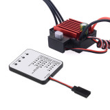 Surpass Hobby KK Waterproof 35A Brushless ESC 2-3S Electric Speed Controller with LED Programing Card for RC 1/16 1/14 RC Car 2838 2845 Brushless Motor