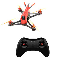 HGLRC ToothPick Parrot120 2-3S Micro FPV Racing Drone RTF with T8S Remote Controller 120mm Wheelbase F411 Flight Control 13A 4in1 ESC Racing Drone