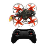 Happymodel Mobula7 HD 2-3S 75mm Crazybee F4 Pro Whoop Mobula 7 FPV Racing Drone RTF w/ CADDX Turtle V2 HD FPV Mini Camera T8S Remote Controller