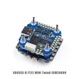 iFlight SucceX-D Mini F7 TwinG Stack Mini F7 TwinG FC with SucceX 40A BLHeli_32 4-in-1 ESC for DJI Air Unit