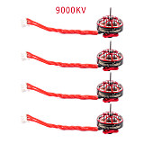 4PCS Happymodel EX1102 1102 8500KV 9000KV 10000KV 13500KV Mobula7 HD Sailfly-X Brushless Motors CW CCW for 2s-3s 75mm-85mm Whoops DIY FPV Drone Quadcopter