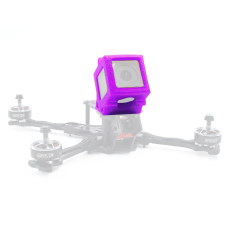GEPRC 3D Printing TPU FPV Camera Fixed Mount Sports Camera Protect Border Compatiable with Gopro 7 Action Camera GEP-OX5 Frame Kit
