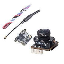 Foxeer Razer Micro 1.8mm M8 1200TVL FPV Camera with FE200T 5.8G 40CH VTX For DIY RC FPV Racing Drone Models