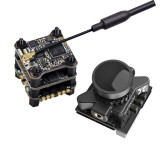 Foxeer SIF4 F4 Flytower Flight Controller with ESC VTX Foxeer Razer Micro FPV Camera For DIY RC FPV Racing Drone