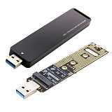 XT-XINTE USB 3.1 to Nvme M-key M.2 NGFF SSD External PCBA Conveter Card Adapter Flash Disc Type