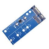 XT-XINTE Blue Edition Adapter Card M2 NGFF SSD SATA3 Ssd A SATA Adapter for Expansion Cards SATA To NGFF Converter