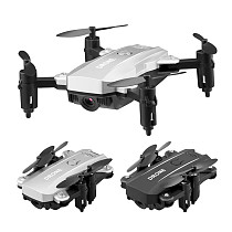 Feichao Mini Drone Quadcopter M9 Camera HD 1080P Wifi FPV Drone Foldable Altitude Hold RC Helicopter Smart Selfie Dron Kids Toy Gift