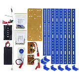 Feichao Smart Robot Kit Remote Control 6-Legs Remote Control Robotic DIY Kits Speed Encoder Battery Box