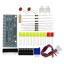 Feichao Electronic DIY Kit LM3915 Audio Level Indicator Production Suite DC 9V-12V Audio Indicator Suite
