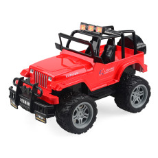 LYSHINE Electric Toy Children's Four-way Remote Control Car 1:18 Off-road Racing Model Toy Rechargeable Toy Dew Top / Hard Top