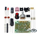 Feichao Smart Electronic DIY Kit LM386 Super Mini Audio Amplifier DIY Kit Suite Trousse LM386 Amplificador Module Board 3-12V