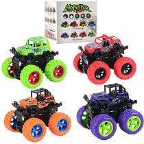 Feichao Monster Inertia Buggy Toy Spring Shock Absorber Boy Stunt Car Model