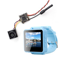 ShenStar FPV200 5.8GHz 48CH OSD Raceband DVR FPV Watch 2inch LCD 960*240 Display FPV Receiver with Firefly 1/3 CMOS 1200TVL Camera for DIY FPV Racing Drone