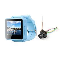 ShenStar FPV200 5.8GHz 48CH OSD Raceband DVR FPV Watch 2inch LCD 960*240 Display FPV Receiver with HCF7P AIO VTX Camera for DIY FPV Racing Drone