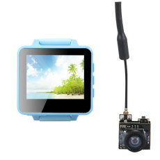 ShenStar FPV200 5.8GHz 48CH OSD Raceband DVR FPV Watch 2inch LCD 960*240 Display FPV Receiver with 800TVL FPV AIO Micro VTX Camera for DIY FPV Racing Drone