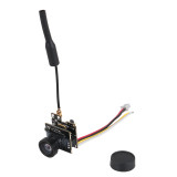 JMT 5.8G 800TVL FPV AIO Micro Camera Integrated 25MW 40CH VTX with Mini FPV Receiver UVC Video Downlink OTG For Android Mobile Phone Smartphone FPV Quadcopter Drone