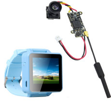 ShenStar FPV200 5.8GHz 48CH OSD Raceband DVR FPV Watch 2inch LCD 960*240 Display FPV Receiver with FPV Split Camera NTSC 25MW 48CH for DIY FPV Racing Drone