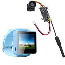 ShenStar FPV200 5.8GHz 48CH OSD Raceband DVR FPV Watch 2inch LCD 960*240 Display FPV Receiver with FPV Split Camera NTSC 25MW 48CH for DIY FPV Racing Drone