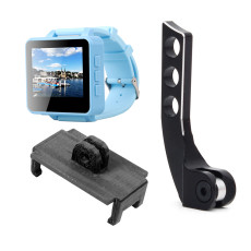 ShenStar FPV200 5.8GHz 48CH OSD Raceband DVR FPV Watch 2inch LCD 960*240 Display FPV Receiver with Bracket PLA 3D Print Holder Balancer Adjuster for DIY FPV Racing Drone