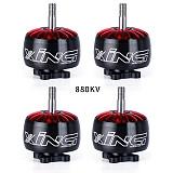 4PCS iFlight XING 2814 880KV 1100KV 1700KV 2200KV Brushless Motor 3-6S FPV NextGen Motor 5MM Shaft for DIY RC FPV Racing Drone