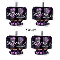 4PCS iFlight Xing Nano Camo X1206 4500KV/6500KV 2-4S FPV Nextgen Brushless Motor For FPV Micro Drone RC Racer