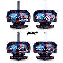 4PCS iFlight XING NANO CAMO X1103 8000KV/10000KV 2-3S FPV NextGen Brushless Motor for FPV CineWhoop Drone CineBee 75HD FPV Racing Quadcopter