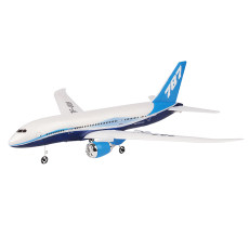 Feichao QF008 2.4G Light Weight 3CH EPP RC Airplane Fixed Wing Airplane RTF DIY Assembly Car Opening Wingspan 550mm 787 simulation model Children's Toys