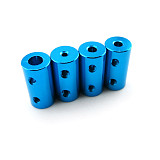 10Pcs Feichao Aluminum Alloy Coupling Bore 5x5mm 6x6mm Diameter 10mm 12mm Length 20mm 3D Print Part Flexible Shaft Coupler Stepper Motor