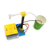Feichao DIY Automatic Induction Water Dispenser Technology Model DIY Hand-assembled Toy Circuit Science Experiment Model For kids Toy