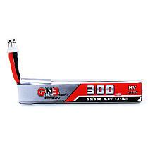 Gaoneng GNB 300MAH 3.8V 30C 1S Lipo Battery HV 4.35V PH2.0 Plug with Cable for Indoor Brushless FPV Racing Drone Snapper6/Snapper7/Snapper8 /Mobula7 URUAV UR65 Eachine UK65/US65 BetaFPV 65 /75