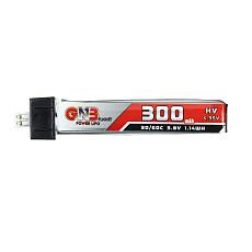 GAONENG 300mAh 3.8V 30C/60C LiHV Lipo Battery PH2.0 Plug for Eachine UK65 US65 Blade Inductrix BetaFPV 65S URUAV UR65 Drone