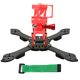 JMT Three1 210mm FPV Racing Drone Quadcopter Frame Kit with TPU Camera Mount Angle Adjustable for GOPRO 5/6/7 Action Camera