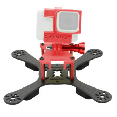JMT ONE180 Carbon Fiber FPV Racing Drone Frame Kit with 3D Print TPU Camera Mount Angle Adjustable for GOPRO 5/6/7 Action Camera