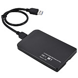 XT-XINTE Tool Free 2.5  Mini USB3.0 SATA Hard Disk Drive Box Aluminum Alloy 5Gbps External HDD Enclosure Case Support 3TB UASP Drop Ship
