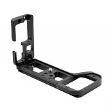 BGNing Aluminum Quick Release L Plate Extension Bracket Camera Holder for Sony a7R IV /A7M4 /A7R4 /A92 Tripod Head Adapter Board